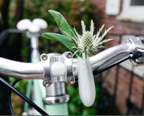 Portafiori Vaso stampa3D per bici