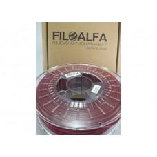 Filoalfa PLA Rosso Scuro 1.75